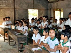 myanmar-schoolkinderen