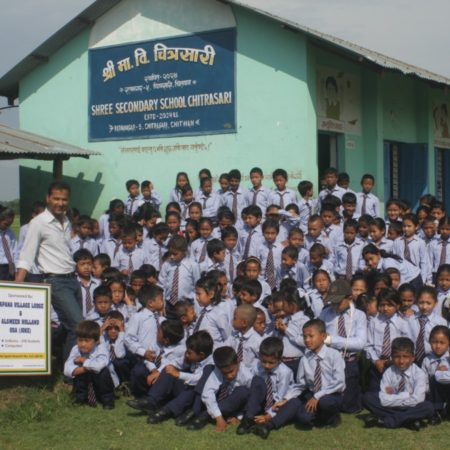 uniforms provided to children vierkant